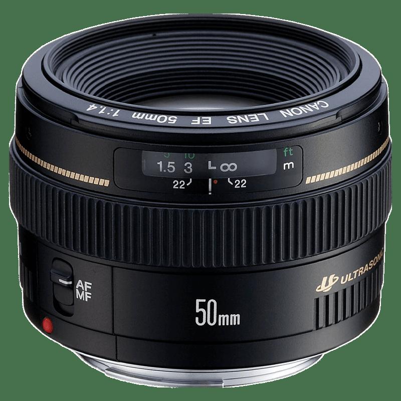 Canon EF USM 50 mm F1.4 DSLR Lens (Black)