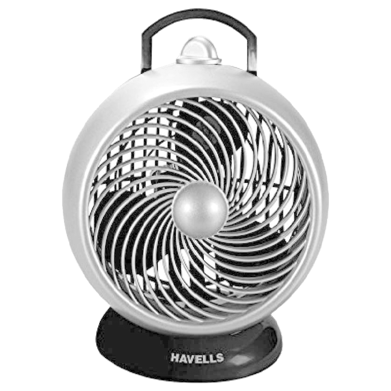 Havells I-Cool 175 mm Personal Fan (Black Grey)