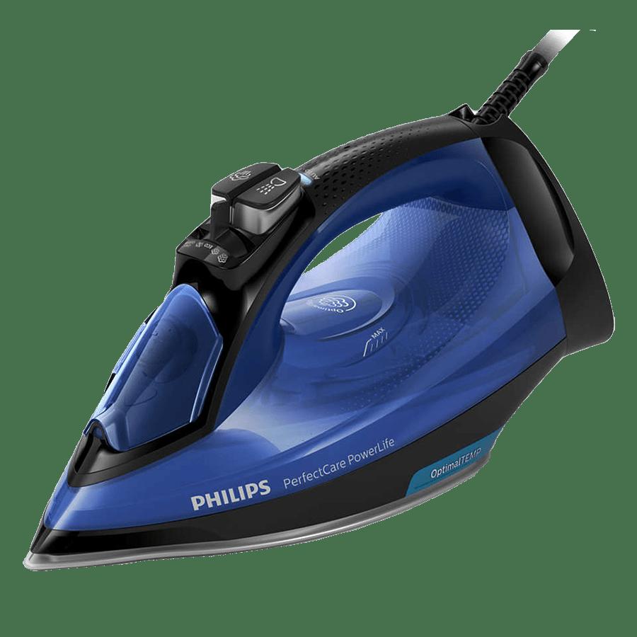 Philips PerfectCare 2400 Watt Steam Iron (OptimalTEMP Technology, GC3920/24, Blue)