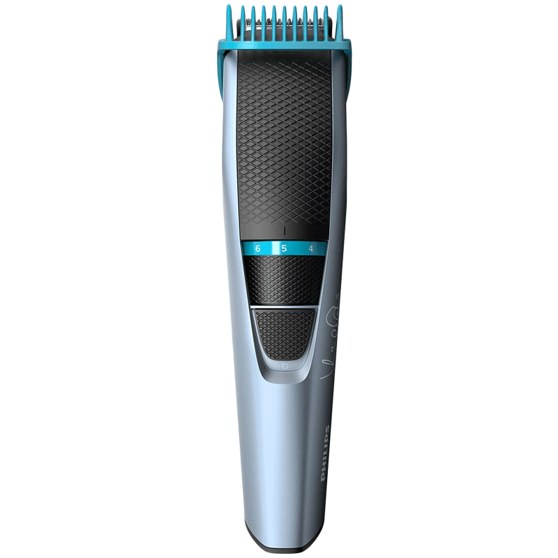 Philips Beardtrimmer Series 3000 Stainless Steel Blades Cordless Beard Trimmer (60 Min Run Time/10h Charge, 10 Length Settings, BT3102/15, Black/Grey)