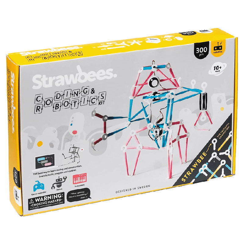 Strawbees Coding  and Robotics Kit (Physical Computing and Creative Coding, SB058, Multicolor)