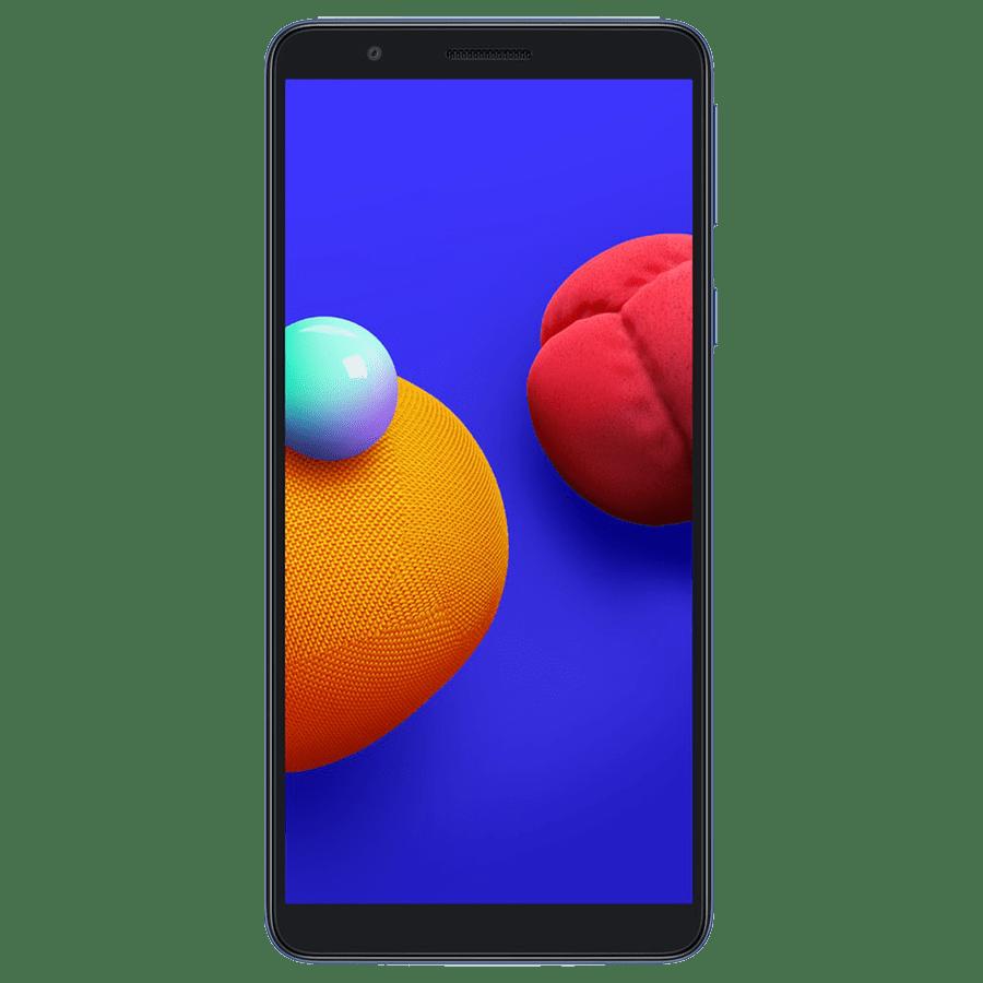 Samsung Galaxy M01 Core (32GB ROM, 2GB RAM, Blue)