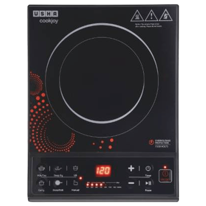 Usha IC3616 Induction Cooktop (Black)