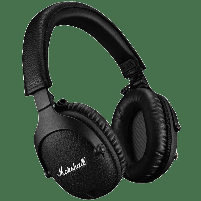 Marshall Monitor II Over-Ear Wireless Headphone (Bluetooth 5.0, MS-MNTRANCBT, Black)