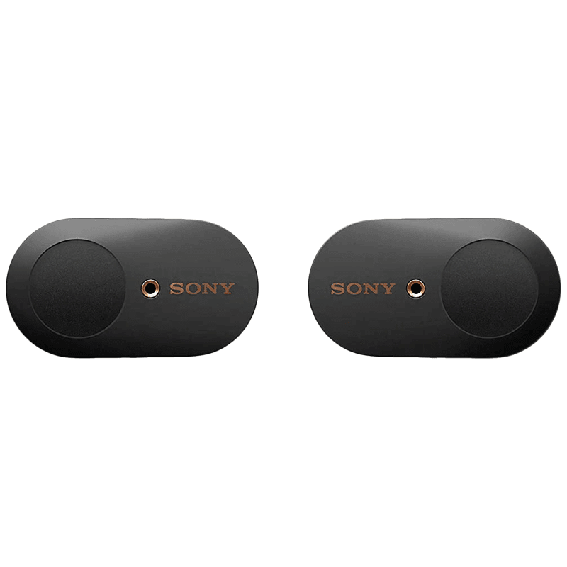 Sony In-Ear Truly Wireless Earbuds with Mic (Bluetooth 5.0, Dual Noise Sensor Technology, WF-1000XM3, Black)