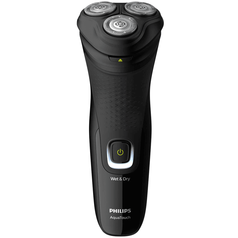Philips AquaTouch Shaver 1200 Self-sharpening Blades Cordless Wet & Dry Shaver (Pop-up trimmer, 40 Min Run Time/10h Charge, S1223/45, Black)