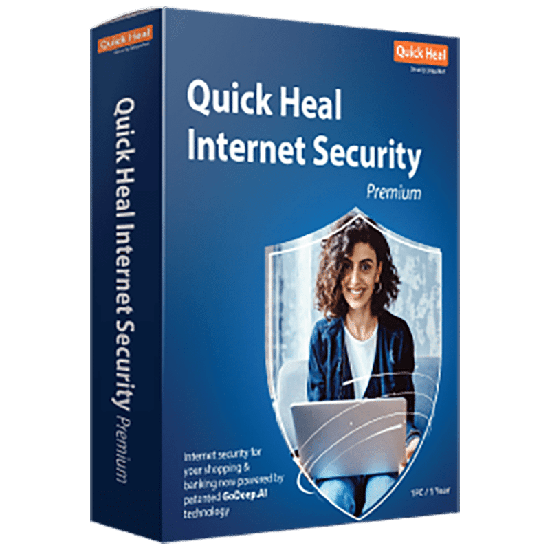Quick Heal Internet Security (1 PC, 1 Year)