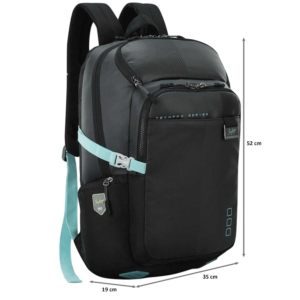 Skybags Intern 2 30 Litres TPE Backpack (LPBPINT2BLK, Black)_2
