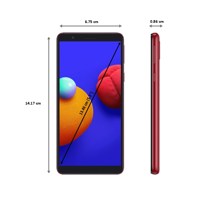 Samsung Galaxy M01 Core (16GB ROM, 1GB RAM, Red)_2
