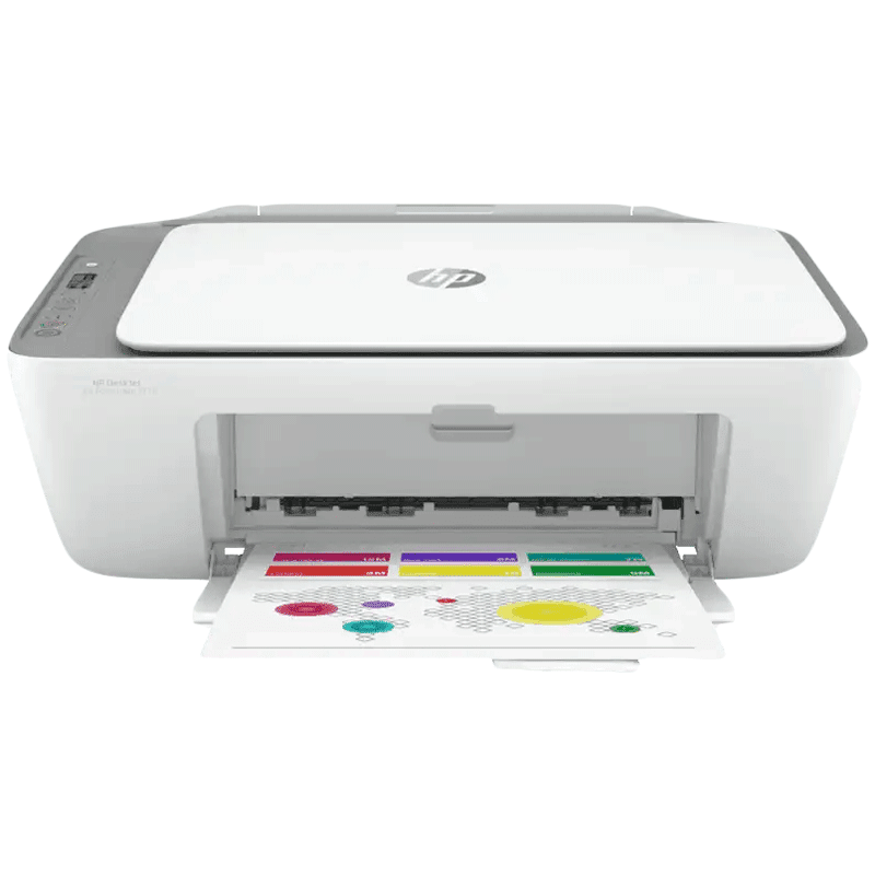 HP DeskJet Ink Advantage 2776 Wireless Color All-in-One Inkjet Printer (Up to 1000 Pages Monthly Print, 7FR27B, Grey)