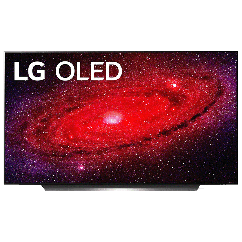 LG CX 55 139.7cm (55 Inch) 4K Ultra HD OLED Smart TV (G-SYNC Compatible, OLED55CXPTA, Black)