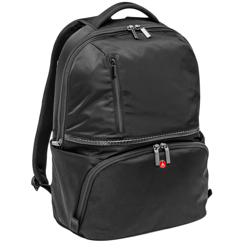 Manfrotto Active II Advanced Camera and Laptop Backpack (Interchangeable Dividers, MB MA-BP-A2, Black)
