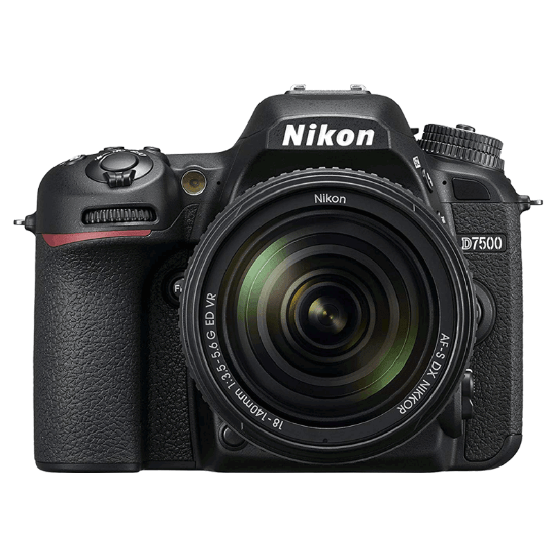 Nikon D7500 21.51 MP Digital SLR Camera with AF-S Nikkor 18-140 mm VR Lens Kit