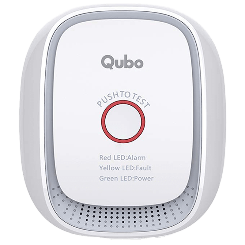 Qubo (Part of Hero Group) Smart Gas Sensor (HS1CG-E, White)