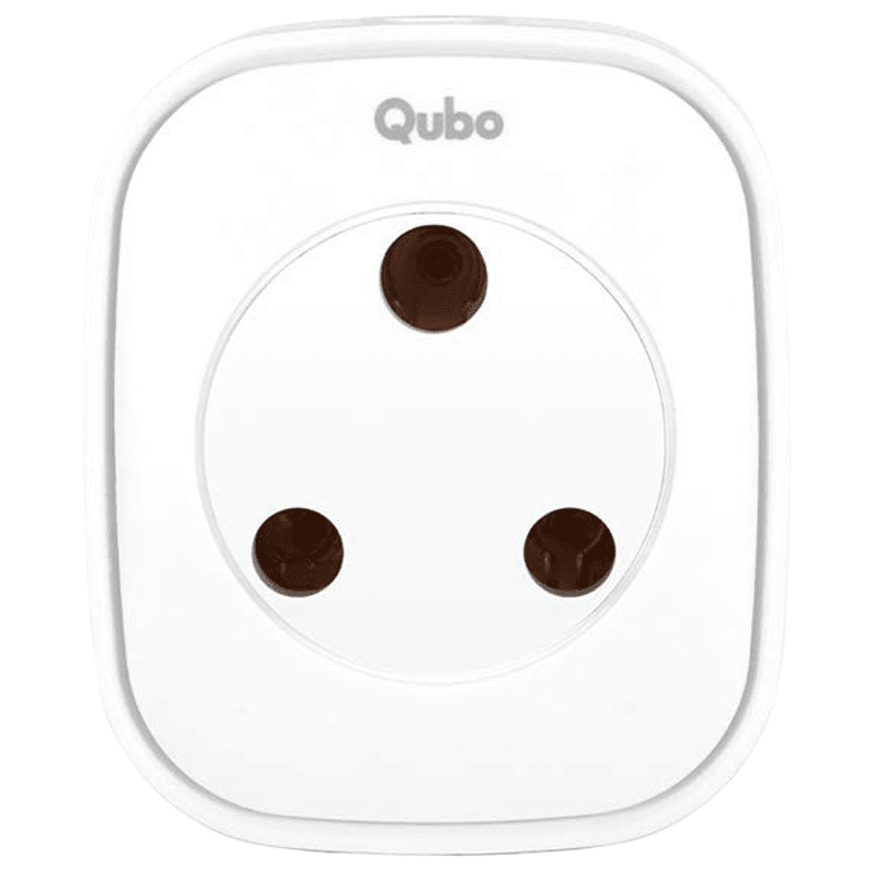 Qubo (Part of Hero Group) 16 Ampere Smart Plug (HS1, White)