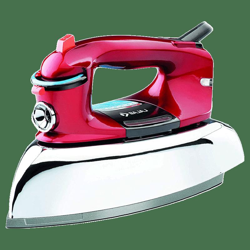 Bajaj 2000 Watt Steam Iron (Majesty Macho, Red)