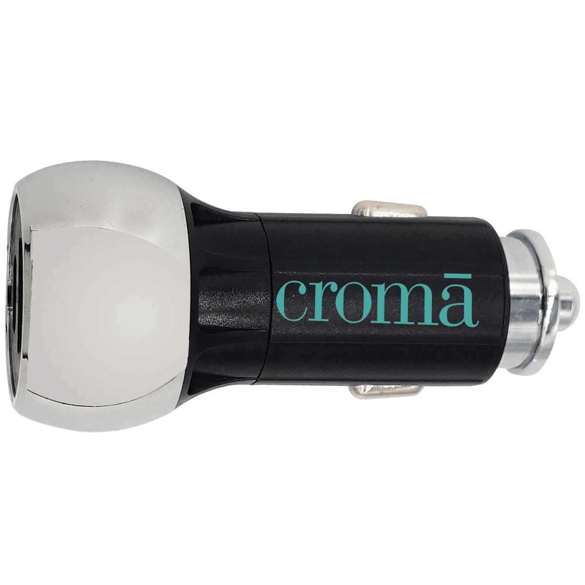 Croma 36 Watts 2 USB Ports Car Charging Adapter with Cable (Fast Charging, CRCA3000, Black)