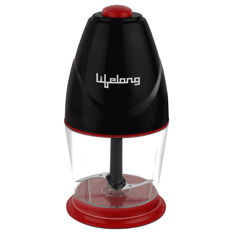 Lifelong 250 Watts Electric Chopper (Suitable for Vegetable, 1 Blade, LLEC01, Black)_1