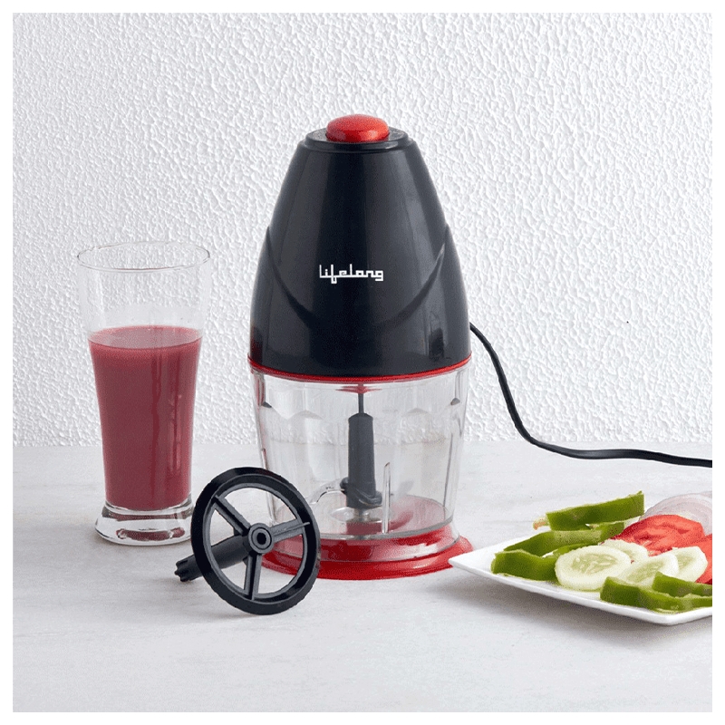 Lifelong 250 Watts Electric Chopper (Suitable for Vegetable, 1 Blade, LLEC01, Black)_6