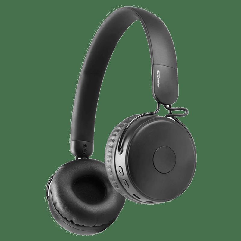 Portronics Muff M Bluetooth Headphone (POR-317, Black)