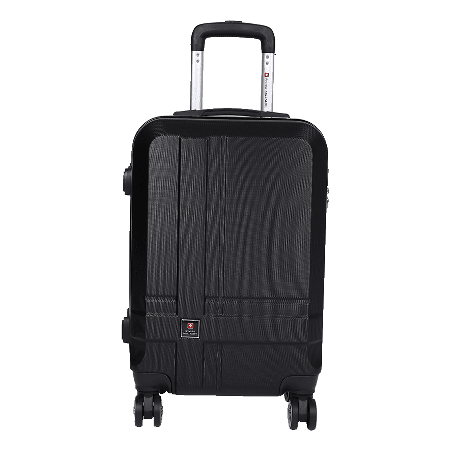 Swiss Military 42 Litres Trolley Bag (HTL82, Black)