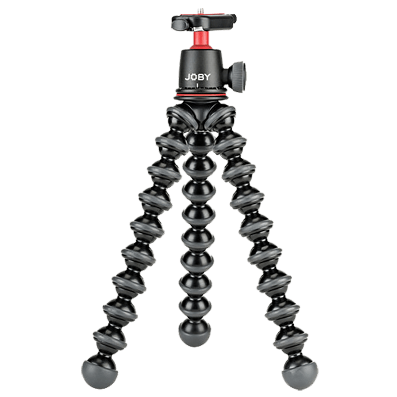 Joby GorillaPod 3K Adjustable Tripod with Ball Head Kit For DSLR & Mirrorless Cameras (Up to 3 Kg, Flexible Legs, JB01507-BWW, Black)