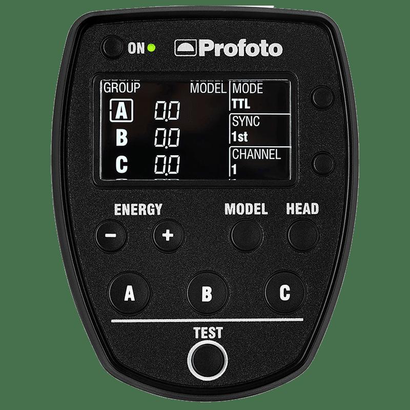 Profoto Air Remote TTL-C For Nikon Cameras (8 Digital Channels, 901040, Black)