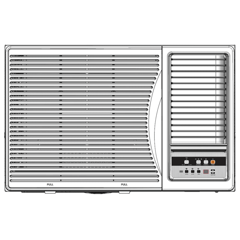 Panasonic 1.5 Ton 5 Star Window AC (Copper Condenser, CW-XN181AM, White)