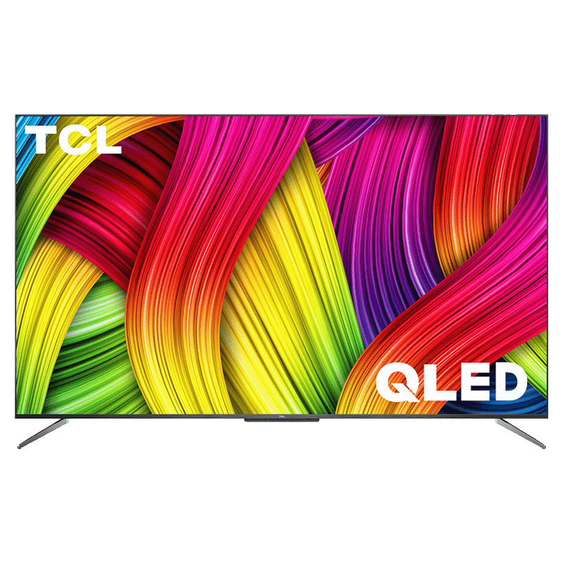 TCL C715 165.1cm (65 Inch) 4K Ultra HD QLED Android Smart TV (Quantum Dot Technology, 65C715, Black)