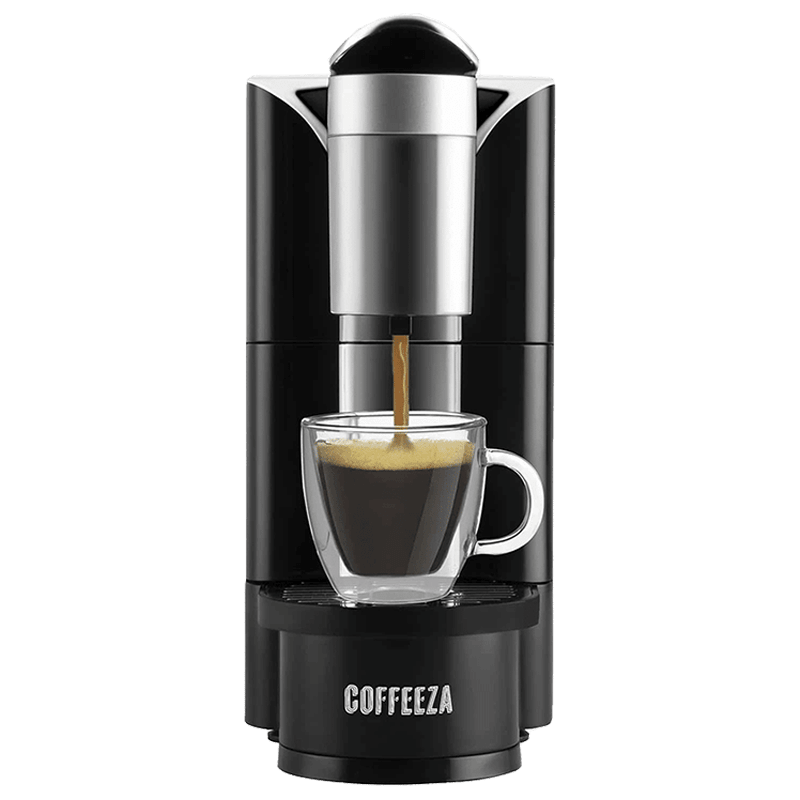 Coffeeza Finero Capsule Coffee Machine (MFI-001, Black)