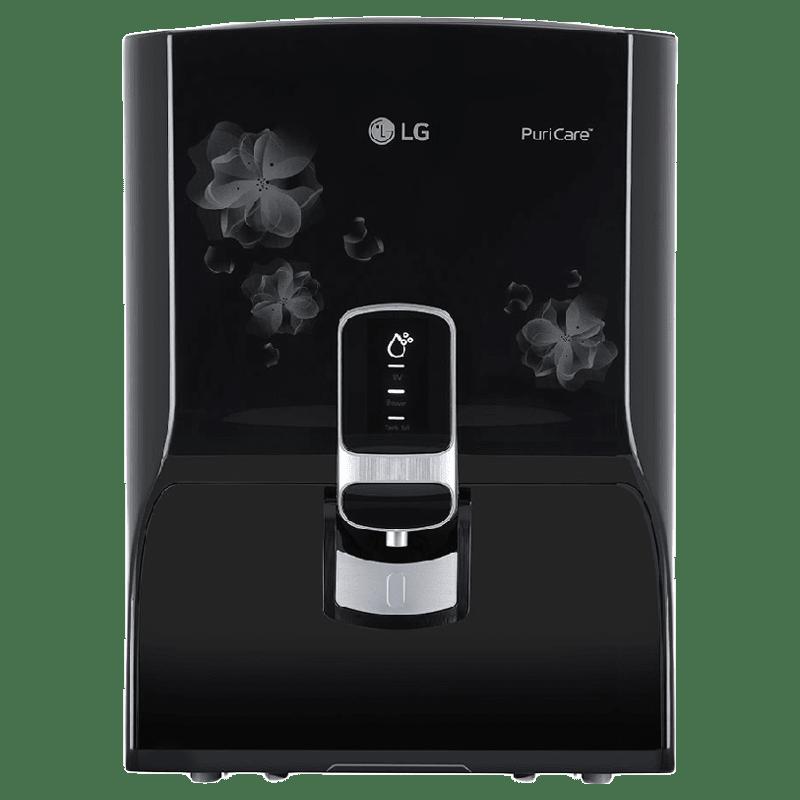 LG PuriCare RO UV Water Purifier (WW151NP.CBKQEIL, Black)