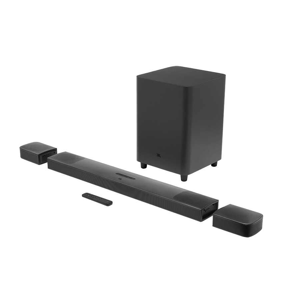 JBL 9.1 Channel Bluetooth Soundbar with Wireless Sub-Woofer (JBLBAR913DBLKIN, Black)