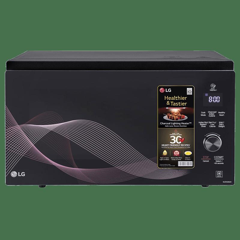 LG 32 Litres Convection Microwave Oven (MJEN326UH, Black)