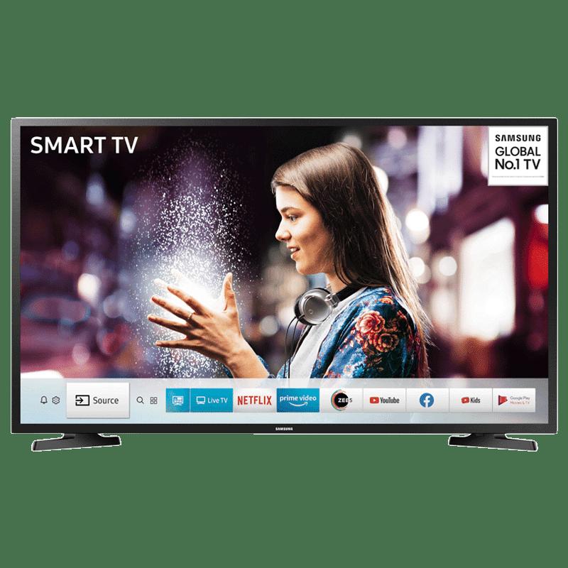 Samsung Series 4 T4700 80 cm (32 inch) HD Ready LED Smart TV (UA32T4700AKXXL, Black)