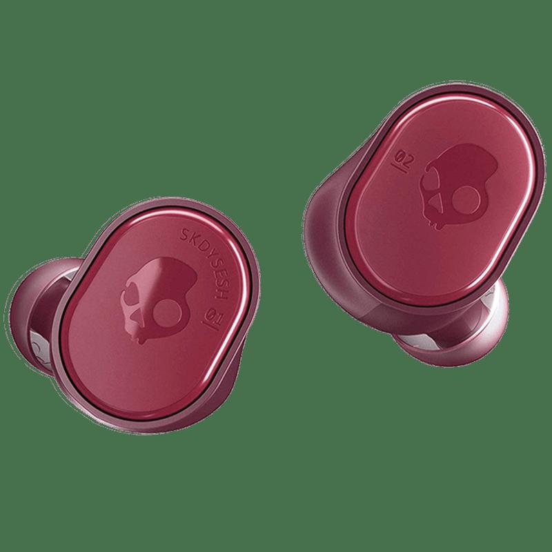 Skullcandy Sesh True Wireless Earbuds (S2TDW-M723, Deep Red)