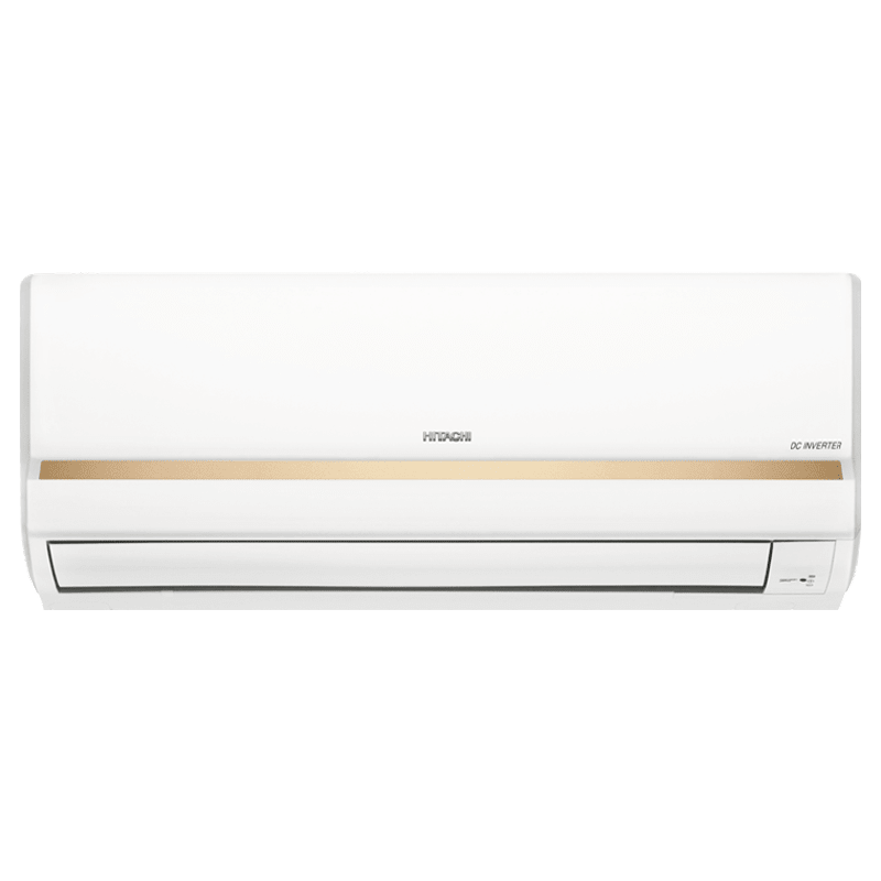Hitachi Merai 3100S Champion 1 Ton 3 Star Inverter Split AC (Copper Condenser, RSFG312HDEA, Gold)