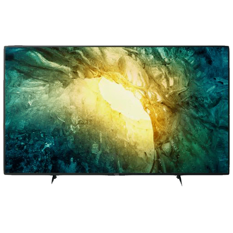Sony X75H 139cm (55 inch) 4K UHD LED Android Smart TV (55X7500H, Black)