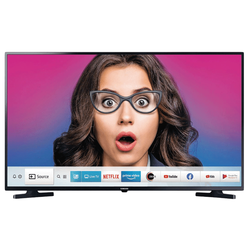 Samsung Series 5 T5350 108 cm (43 inch) FHD LED Smart TV (UA43T5350AKXXL, Black)