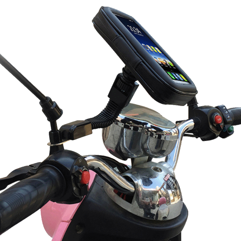 Inbase Universal Waterproof Bike Mount (Bikemount, Black)_1