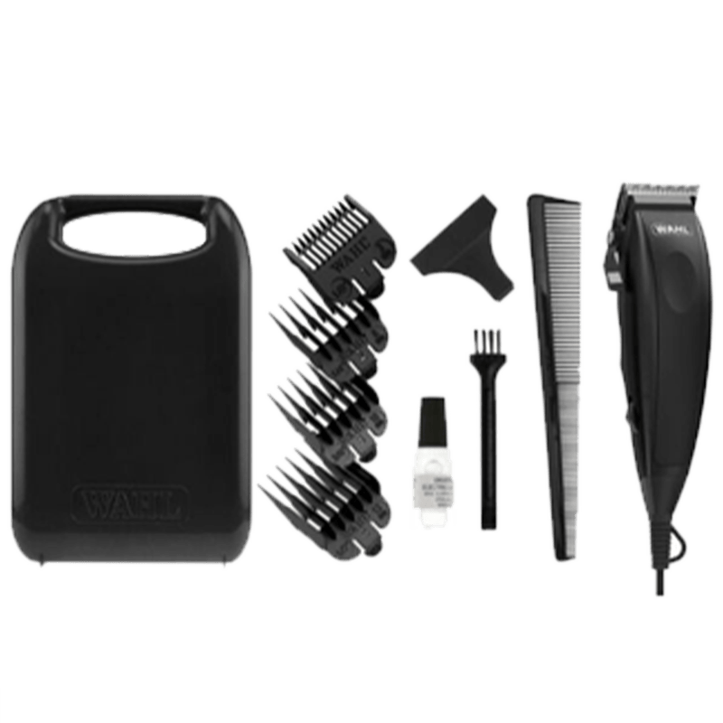 Wahl Home Cut Self Sharpening Blades Corded Clipper (Powerful Motor, 09243-4724, Black)