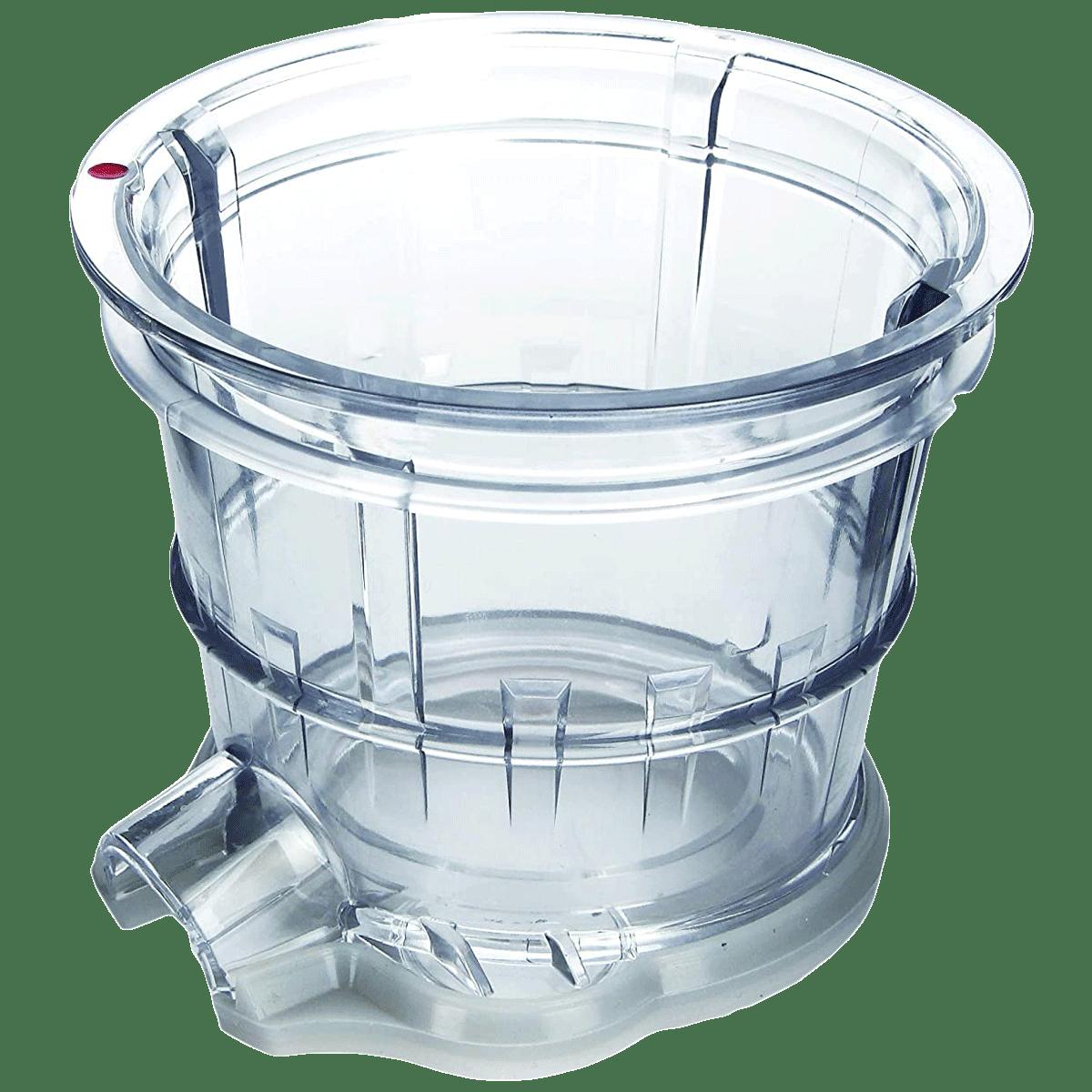 Kuvings Sorbet Strainer For Cold Press Juicer (Make Delicious Sorbet, KUVB17SOR, Transparent)