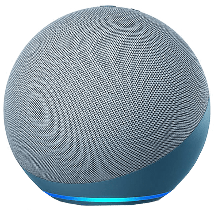 Amazon Echo 4th Gen Alexa Built-In Smart Speaker (Premium Dolby Sound, B085HK322L, Blue)