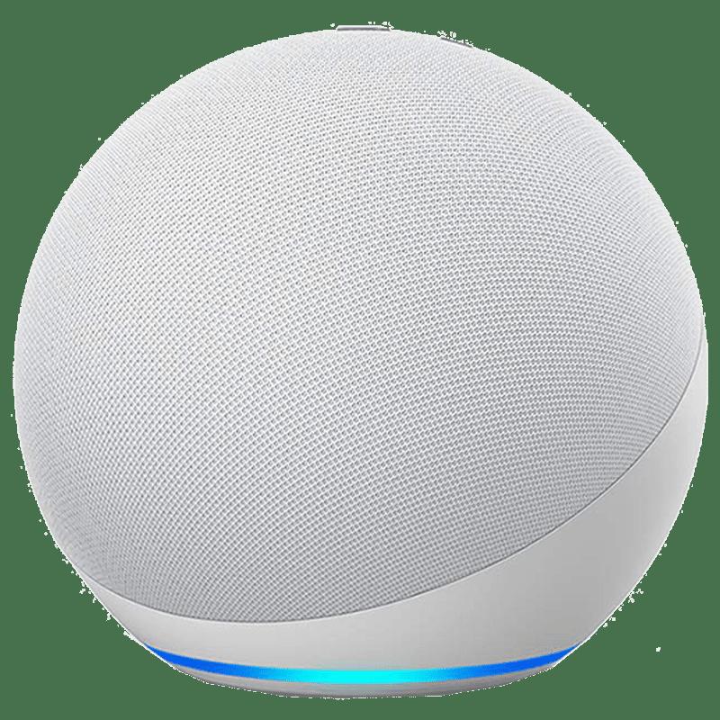 Amazon Echo 4th Gen Alexa Built-In Smart Speaker (Premium Dolby Sound, B085FWR7T4, White)