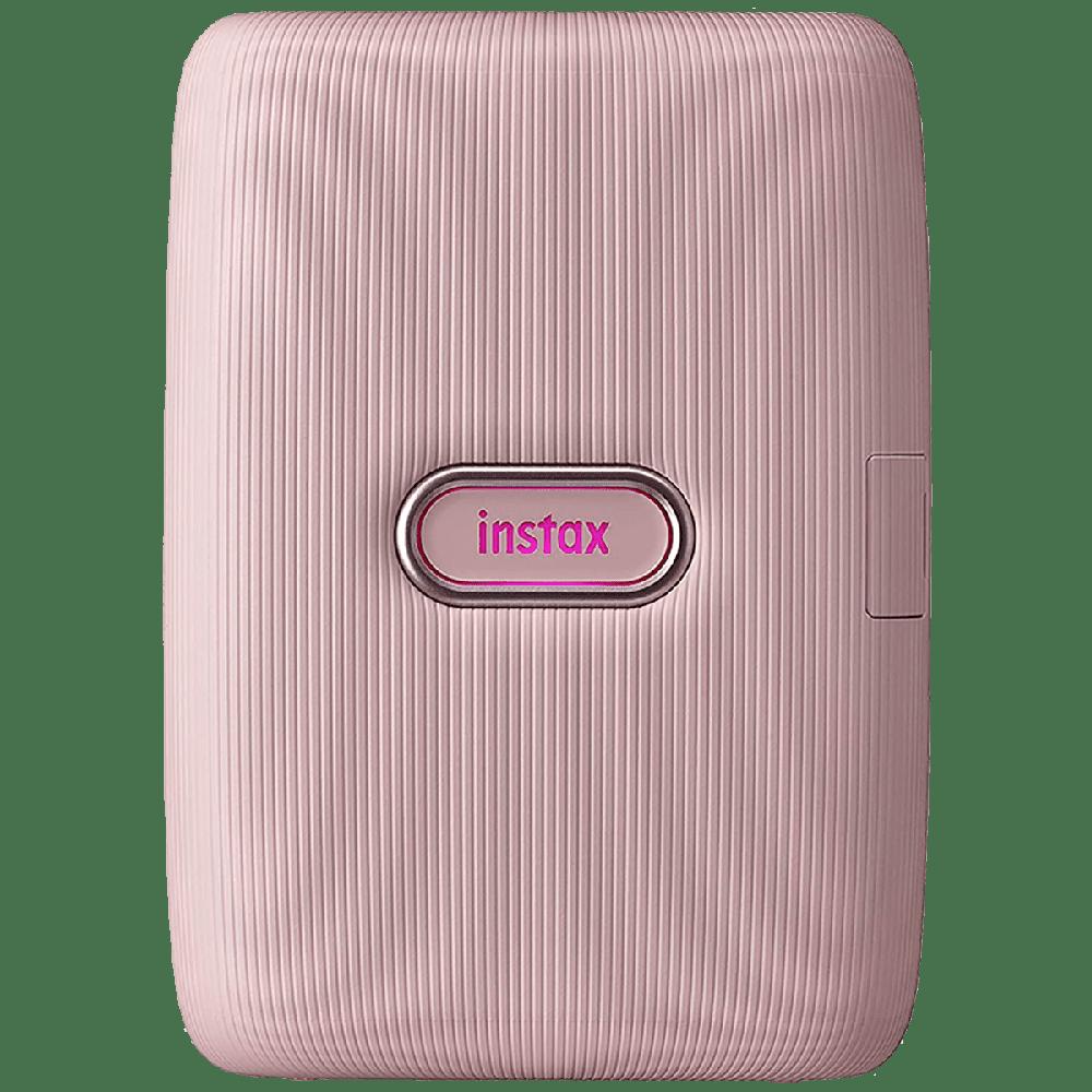 Fujifilm Instax Mini Link Bluetooth Color Smartphone Printer (Automatic Film Detection, IC0126, Dusky Pink)