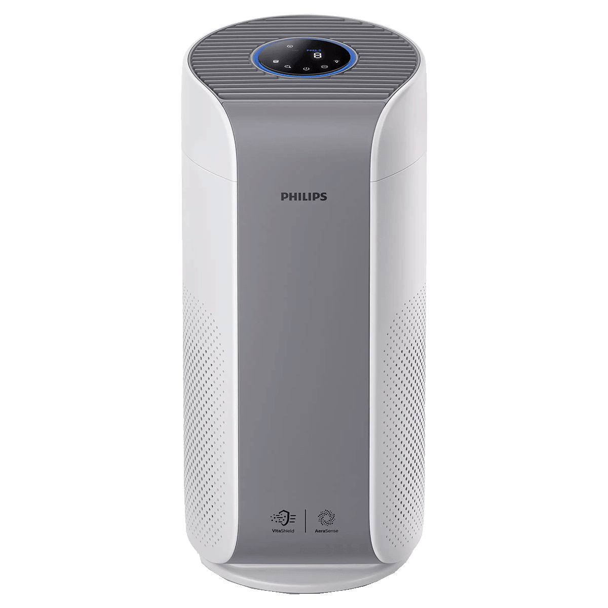 Philips Vitashield IPS and AeraSense Technology Air Purifier (Multi Touch, AC1758/63, Mid Grey and White)