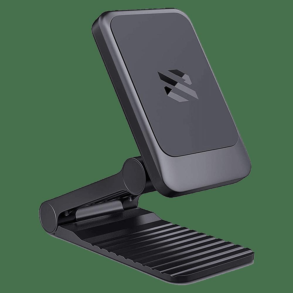 SkyVik Truhold Multiway Magnetic Mobile Holder (Car/Office/Home, MM-ZF03MF, Black)