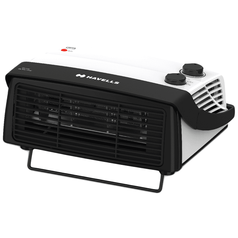 Havells Cista 2000 Watts PTC Ceramic Fan Room Heater (Two heat Settings, GHRFHAYW200, White)