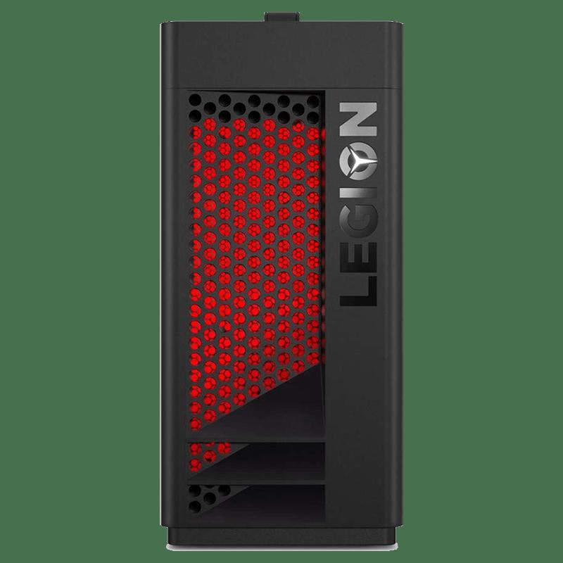 Lenovo Legion T350 Tower (90L300NYIN) Core i7 9th Gen Windows 10 Home CPU (8GB RAM, 1TB SSD, NVIDIA GeForce RTX 2070 + 8GB Graphics, Raven Black)