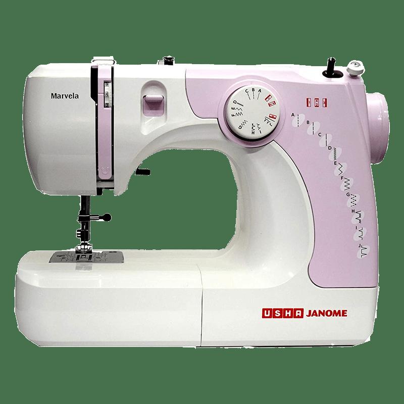 Usha Marvela Sewing Machine (20118000006, Pink)