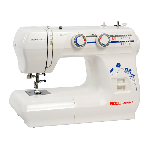 Usha Sewing Machine Wonder Stitch with Cover (2011700014, White)